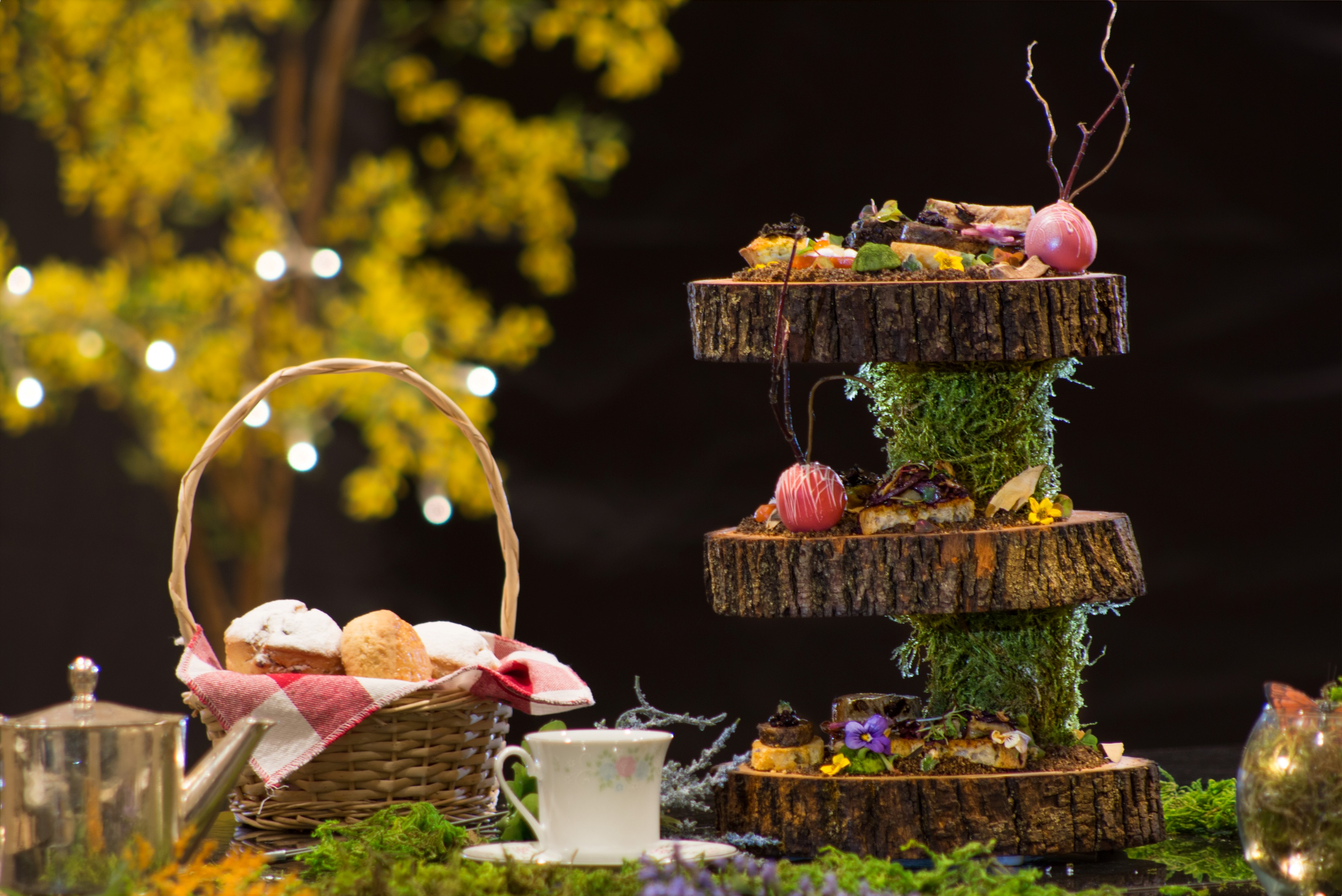 Brothers Grimm Tea Tower