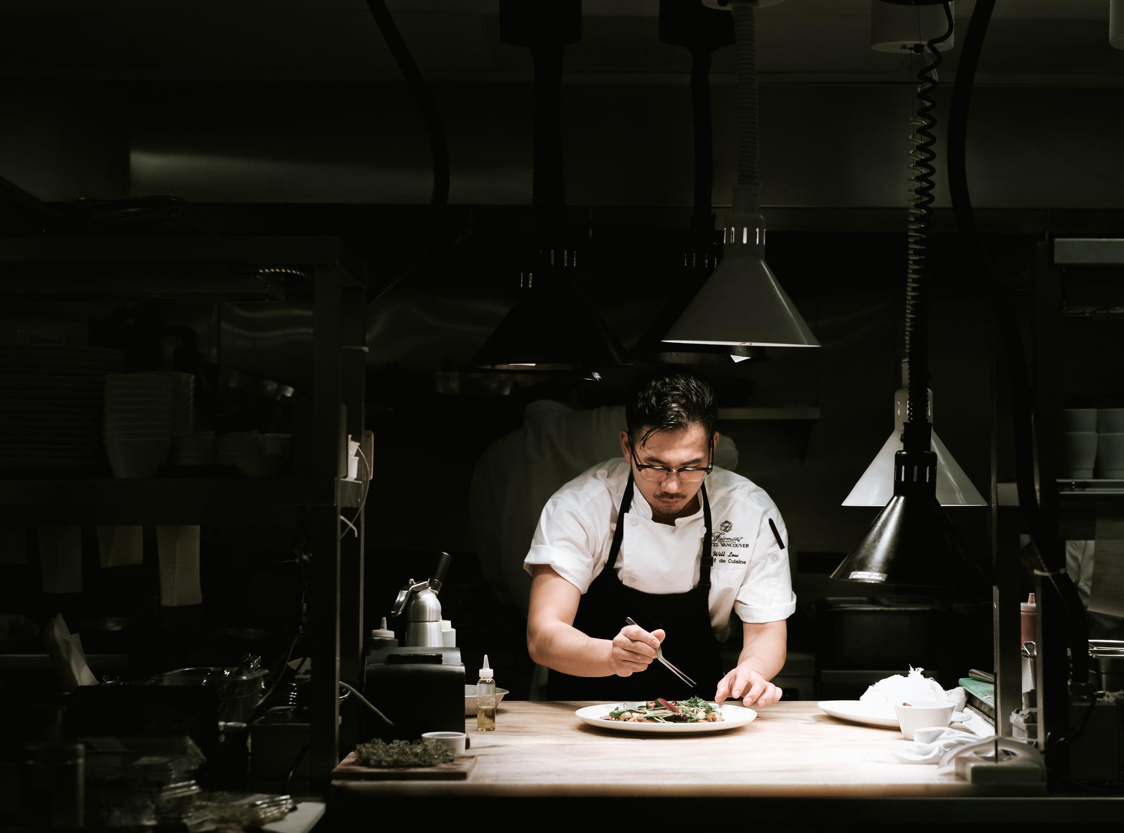 Chef de Cuisine Will Lew